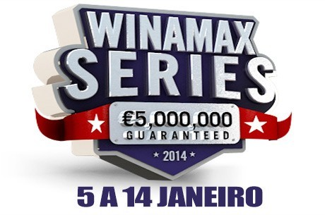 Arrancam Amanhã as Winamax Series VIII €5,000,000 Garantidos
