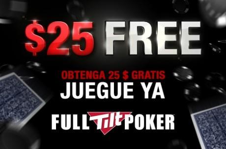 Full Tilt Poker amplia su oferta de $25 gratis hasta el 31 de Enero