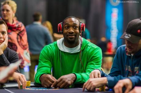 Buvusi NBA žvaigždė Gilbertas Arenas pastebėtas žaidžiantis aukštų įpirkų pokerio...