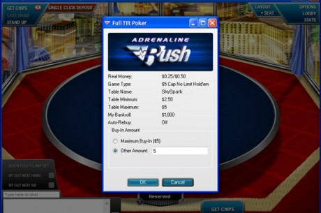 Full Tilt Poker Introduces Adrenaline Rush