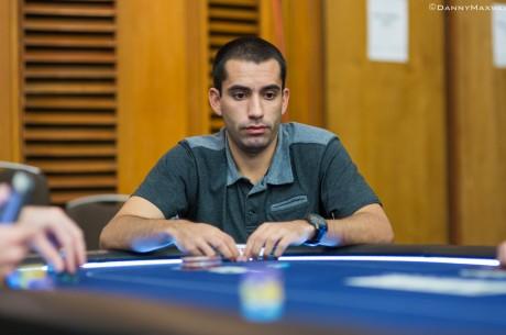 """High Roller $25,000 PCA 2014: João """"Naza114"""" Vieira no Dia 2;Jonathan Jaffe Lidera"""