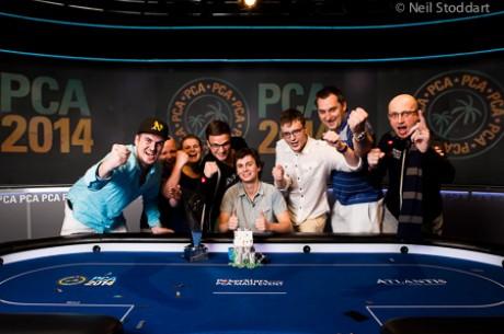 Dominik Panka Vence Main Event PokerStars Caribbean Adventure 2014 (1,423,096)