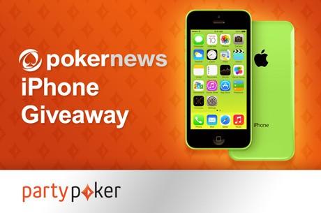 Às Quartas na partypoker: PokerNews iPhone Giveaway