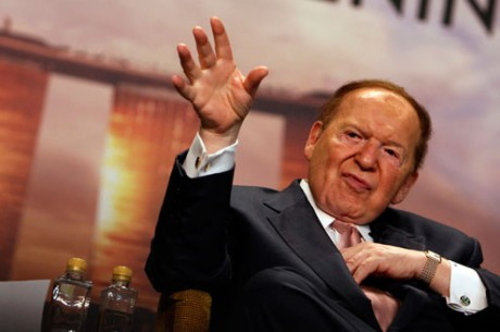 Sheldon Adelson's Draft of Internet Gambling Control Act Leaked
