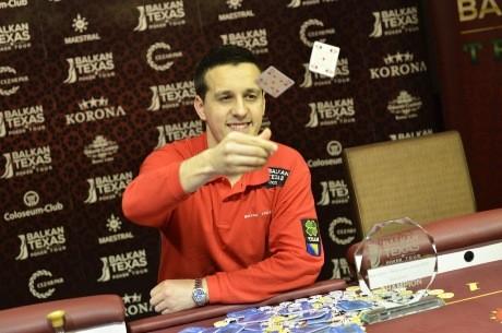 Marko Topić je Pobednik Balkan Texas Poker Tour Main Eventa Banja Luka