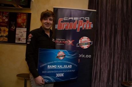 Casino Grand Prix saadab kümme mängijat Eesti meistrivõistlustele