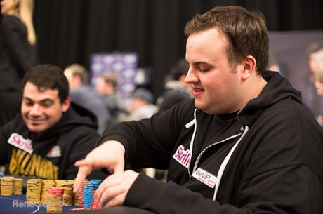 Jon Lundy Leads With 36 Remaining in the UKIPT Edinburgh Main Event