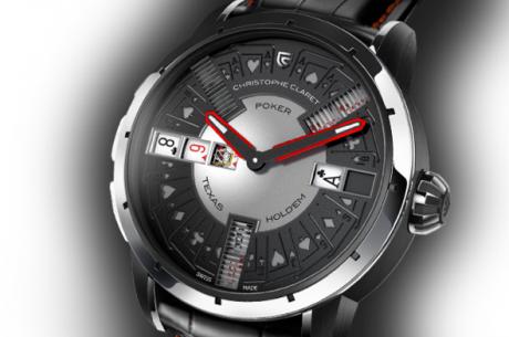 Kaip atrodo pokerio laikrodis už 200,000 dolerių? (Foto + Video)