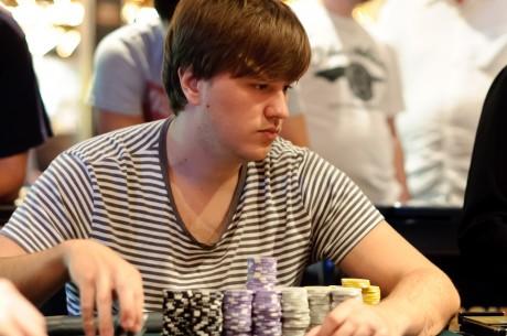 Dominykas Karmazinas išbandė savo jėgas Aussie Millions turnyrų serijoje