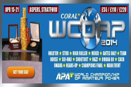 APAT Announce Schedule for the 2014 WCOAP