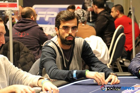 "Renato ""leguito"" Almeida no dia 3 do Main Event FPS Deauville"