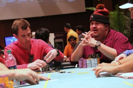 2014 WPT Borgata Winter Poker Open Day 2: Hernandez Leads