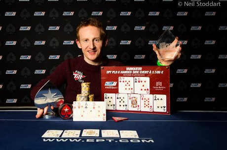 Dermot Blain Wins the €1,100 PLO Side Event at EPT Deauville