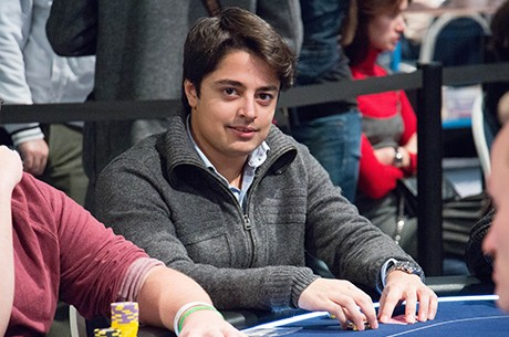 Michel Dattani e Ayaz Manji no Dia 2 do High Roller €10,300 EPT Deauville