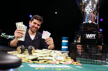 Anthony Merulla Wins 2014 WPT Borgata Winter Poker Open for $842,379