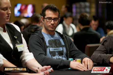2014 Aussie Millions Main Event Day 1a: Malka Leads as 86 of 176 Advance