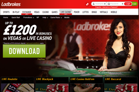 New Live Dealer Platform Launched at Ladbrokes