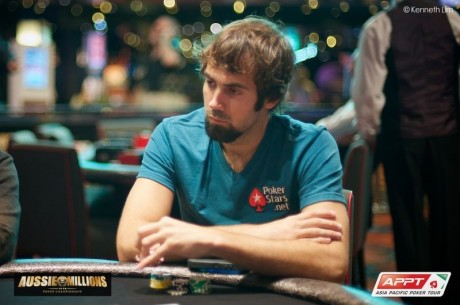 2014 Aussie Millions Main Event Day 1c: Martin Rowe Leads, Jason Mercier Mashing