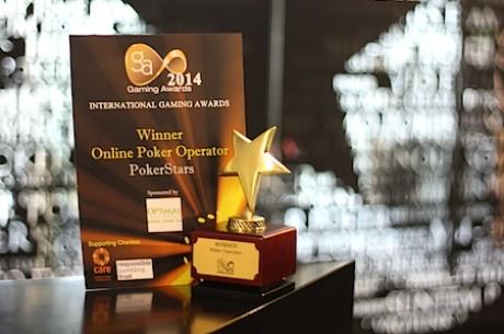 """""""PokerStars"""" antrą kartą iš eilės pripažintas geriausiu internetinio pokerio paslaugų..."""