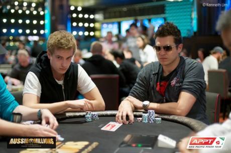 Blom i Polk kontynuują batalię high stakes online podczas Aussie Millions!