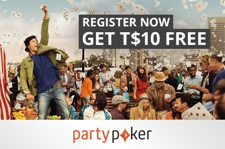 Help yourself to a Free T$10 on partypoker