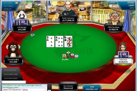 A ação Volta às Mesas de High Stakes da Full Tilt Poker