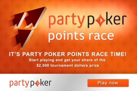 Hurry Up! - Only 4 Days Left in the partypoker Points Race!