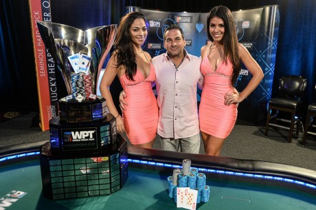 James Calderaro pokonuje Shannona Shorr'a i wygrywa  2014 WPT Lucky Hearts Poker Open