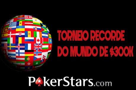 Torneio do Recorde do Mundo na PokerStars a 23 de Fevereiro
