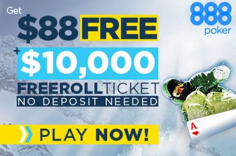 Joga nos Jogos de Inverno da 888poker e Ganha uma Parte dos $300,000 em Jogo!
