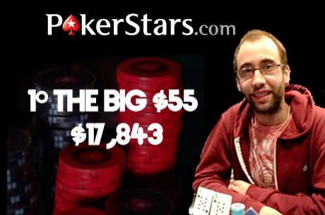 "Joel ""jvieiradias8""Dias Vence The Big $55 & Henrique Pinho 2º The Hot $75"