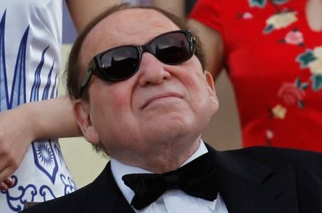 Sheldon Adelson tiene problemas con su campaña contra el juego en internet