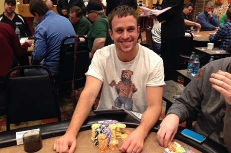 MSPT Season 5 Running Aces: 128 Entries Kick Off Opening Day; Dustin Dirksen Leads