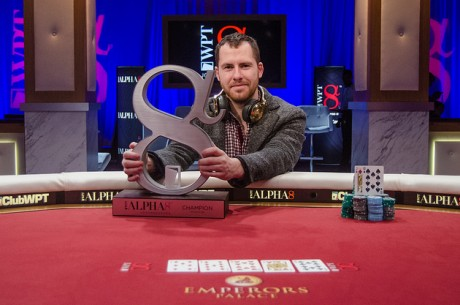 "Daniel ""jungleman"" Cates triumfavo $100,000 įpirkos ""World Poker Tour Alpha8..."