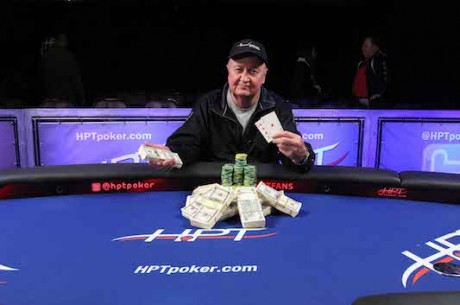 73-Year-Old Retiree Doug Milner Wins Heartland Poker Tour Golden Gates for $230,582