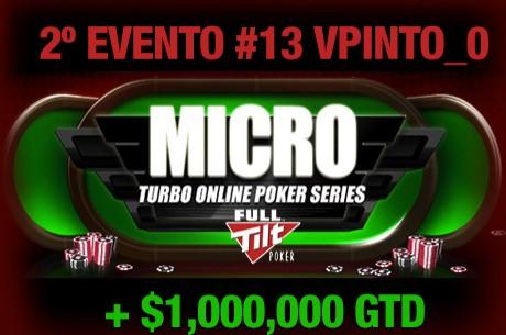 """MTOPS: """"vpinto_0"""" foi 2º no Evento #13"""