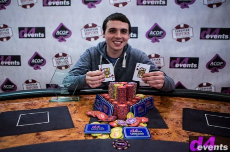 Cathal Shine Takes Down the European DeepStack Poker Championship Main Event