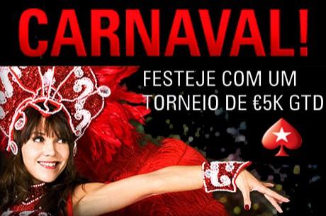 Torneio de Carnaval na PokerStars com €5,000 Garantidos