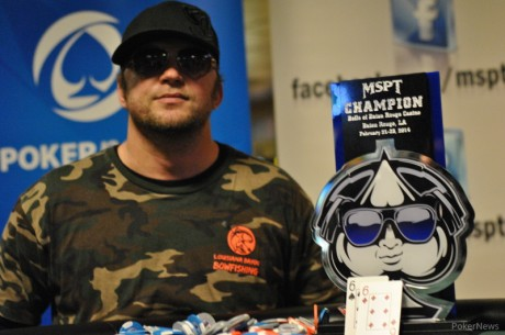 Shawn Schoreck Wins 2014 Mid-States Poker Tour Belle of Baton Rouge for $34,105
