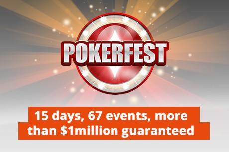 partypoker Lança a PokerFest: 67 Eventos, Mais de $1,000,000 em Jogo!