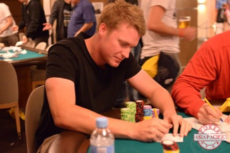 2014 PokerStars.net ANZPT Perth Main Event Day 1b: Mcallister Leads; Hinrichsen Lurks