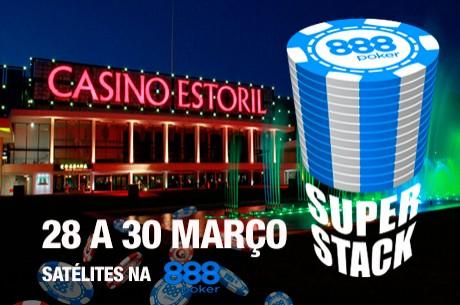 Hoje às 19:05 - Satélite 888poker para o Portugal Super Stack