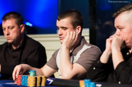 Daniel Stacey Leads UKIPT Dublin; Max Silver Second