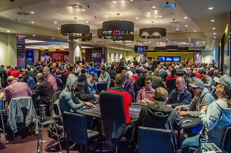 David Gassian On Course for WPT National UK London Title