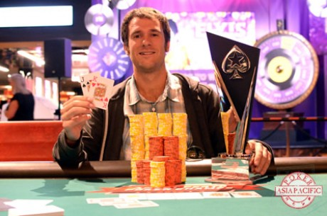 American Patrick Mahoney Wins the 2014 PokerStars.net ANZPT Perth Main Event