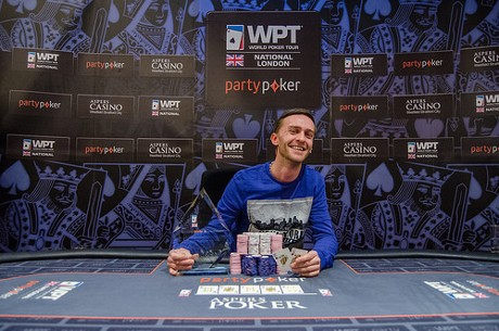Laurence Houghton Wins the WPT National London Main Event
