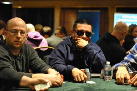 2014 MSPT Majestic Star Casino Day 1b: Ritchie Idrovo Takes Lead with Late Surge