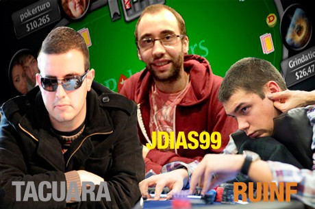 Joel Dias, Tacuara e RuiNF no Pódio do Ranking P5's Português
