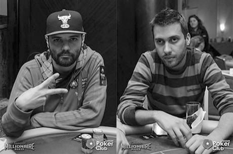 Henrique Pinho e Hugo Félix no Dia 2 do Tanger Millionaire Maker