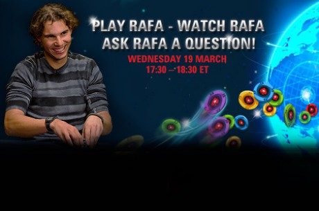 Rafa Nadal Set to Take on the World Playing Pokerstars Zoom